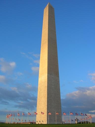 Washington Monument, the image of the beast Nebukadnetsar built