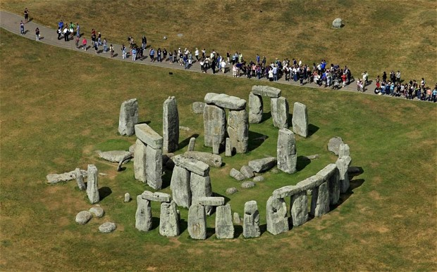 Pagan Stonehenge and winter solstice today