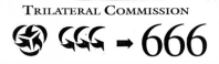Trilateral Commission and the number of the name of the beast, 666
