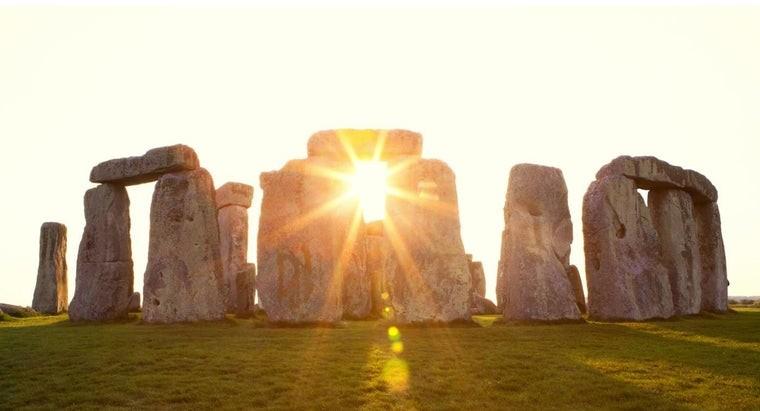 Sun and Pagan Stonehenge