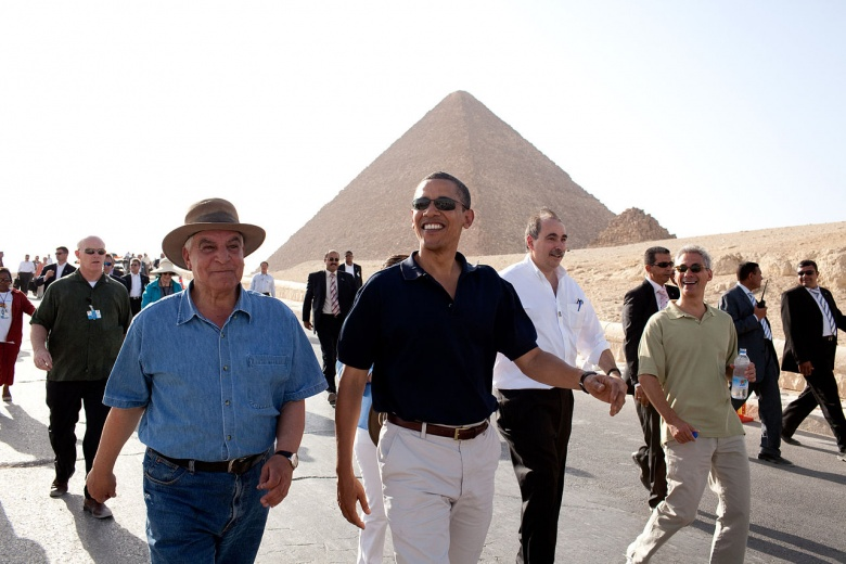 Barak Obama in Egypt in 2009