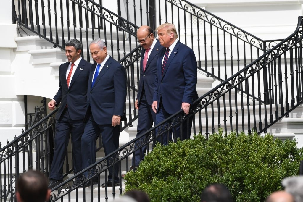President Trump leads the Abraham Accords in the right direction.
