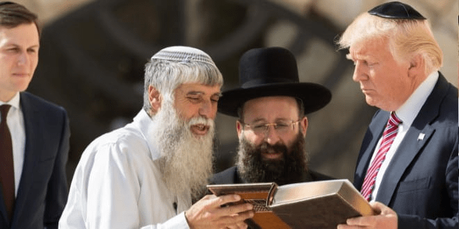 President Trump with Rabbis