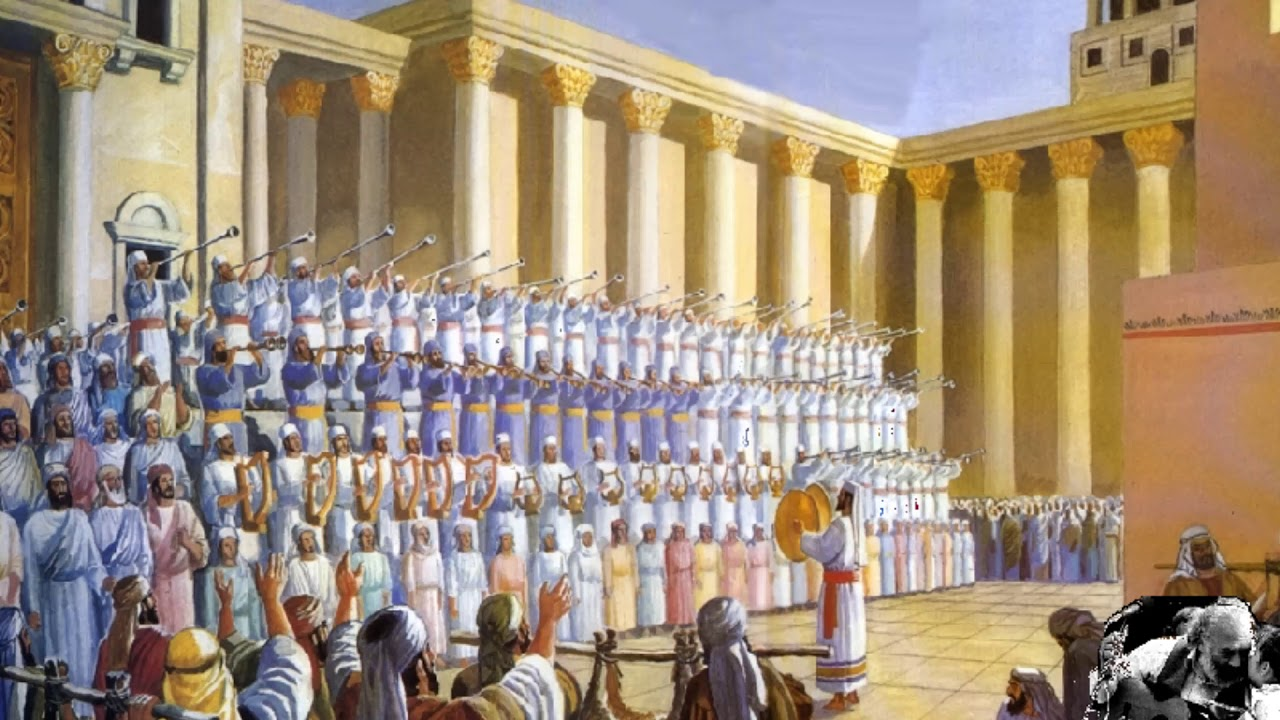 The Levites at the Temple
