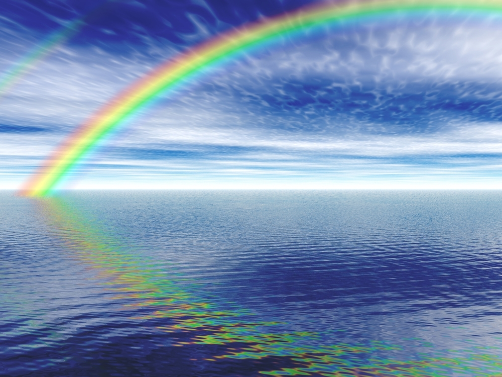 Rainbow the sign of the Creator