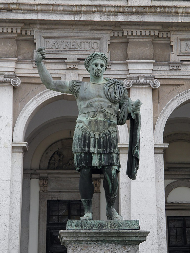 Constantine the Great wanted one religion and the Romans accepted right away.