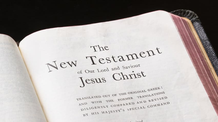 The New Testament page inserted just before the genealogy of Yeshua Mashiach: one of the two uninspired pages in the Bible that obscured the prophecy in Malachi.