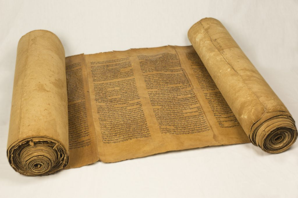 Torah scroll. The sect The Way of the early Nazarenes believed in all that had been written in the Torah and the Prophets.